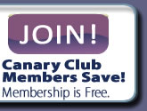 Join the Canary Club as a member by registering a new account.