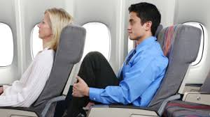 Cramped leg-room on Airplanes