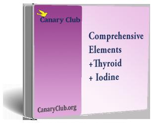 Comprehensive Elements, Nutrients+Thyroid