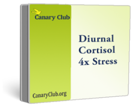 Diurnal Cortisol 4x Stress