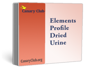 Elements Profile Dried Urine