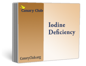 Canary Club Iodine Deficiency Test